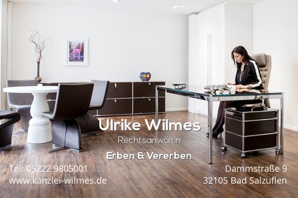Rechtsanwältin Ulrike Wilmes